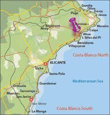 Map Alfaz Del PI